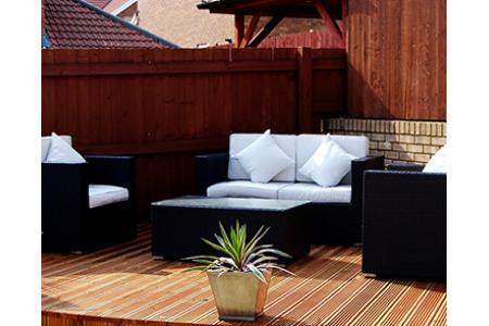 The Kensington Rattan Sofa Set of 12 Replacement Cushion Covers (Cream)