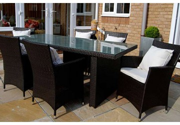 The Belgravia Rattan Dining Set