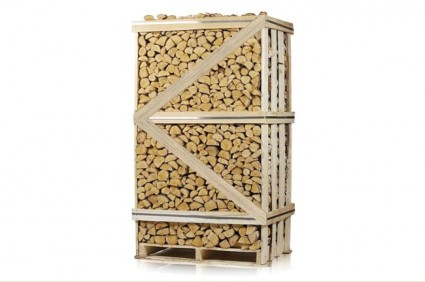 Kiln Dried Hardwood logs FSC 2.23m3