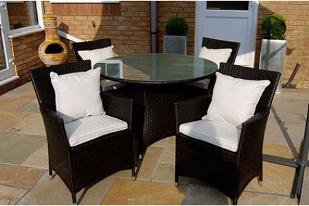 The Mayfair Rattan Dining Set