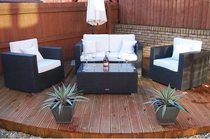 The Kensington Rattan Sofa Set