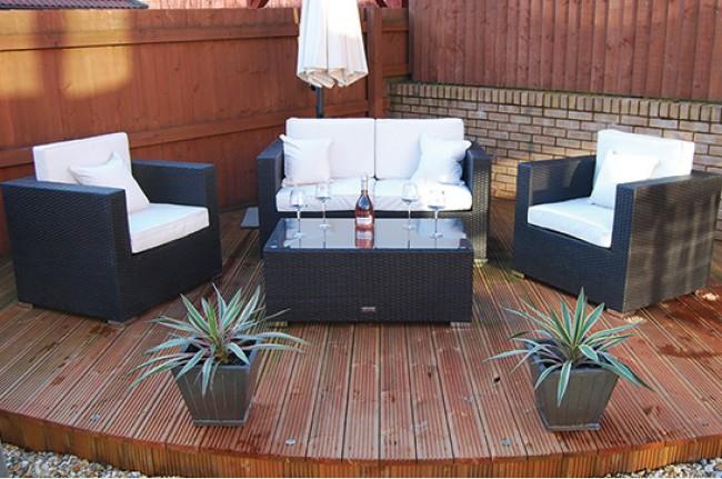 Rattan Garden Furniture Groupon london rattan - the kensington rattan sofa set out of stock