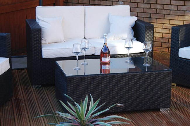 London Rattan The Kensington Rattan Sofa Set