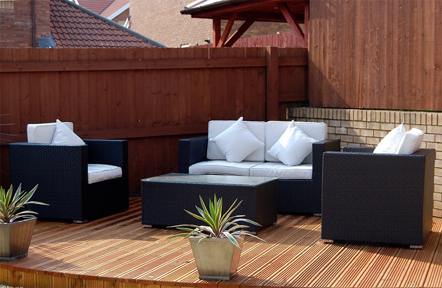 The Kensington - 4 Piece Luxury Rattan Sofa Set
