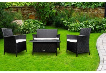 The Windsor Rattan Sofa Set
