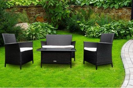 The Windsor Rattan Sofa Set